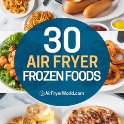 Best Air Fryer Frozen Foods that's Air Fried | Guide to Air Frying Frozen Foods | AirFryerWorld.com