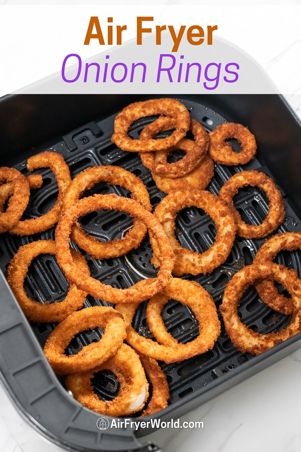 Recipe for Air Fried Onion Rings in Air Fryer | AirFryerWorld.com