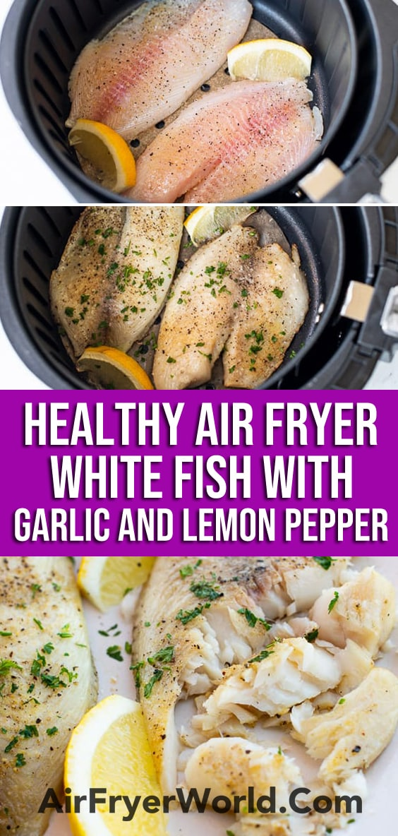 Healthy Air Fried Fish Recipe in Air Fryer | AirFryerWorld.com