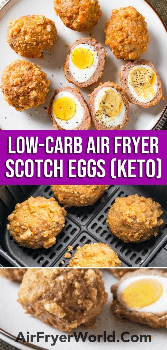 Air Fryer Scotch Eggs Recipe | AirFryerWorld.com