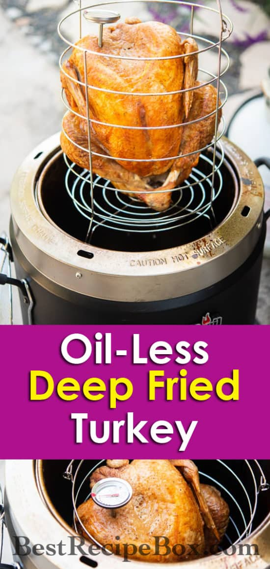 Oil Less Thanksgiving turkey recipe @AirFryerWorld
